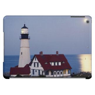 USA, Maine, Portland, Cape Elizabeth, Lighthouse iPad Air Cases