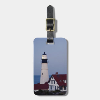 USA, Maine, Portland, Cape Elizabeth, Lighthouse Luggage Tag