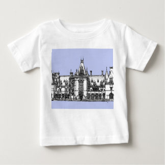 USA Mansion in baby blue Baby T-Shirt