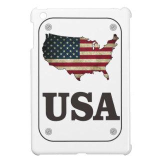 USA Map American Flag iPad Mini Cases