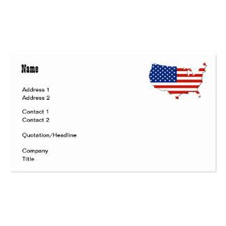 USA map Business Card
