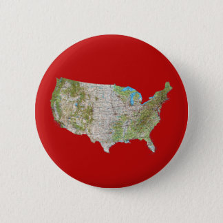 USA Map Button