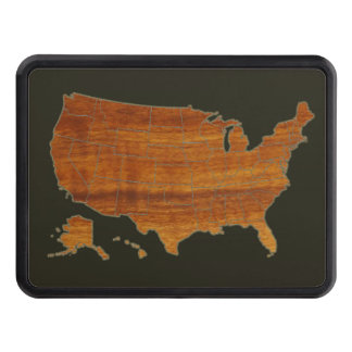 USA map Hitch Cover