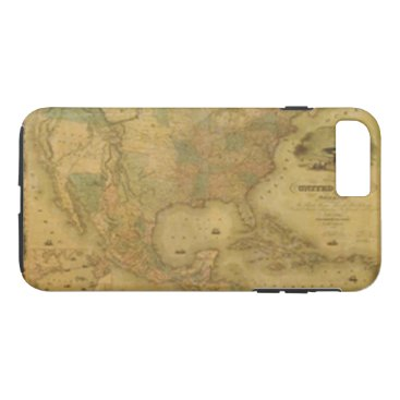 USA Themed USA Map iPhone 7 Case