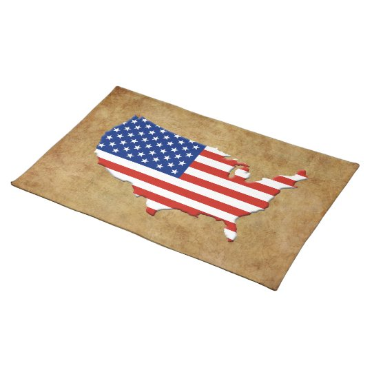 USA map Placemat