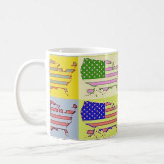 USA Map - Pop Mugs