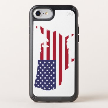 USA map Speck iPhone Case