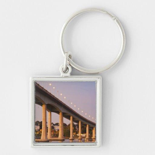 USA, Maryland, Annapolis. Severn River bidge, Key Chain