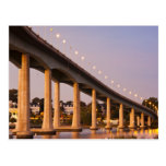 USA, Maryland, Annapolis. Severn River bidge, Post Card