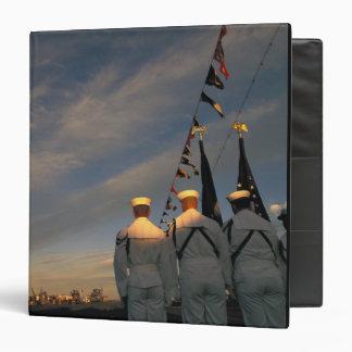 USA, Massachusettes, Boston. US Navy Color Binder