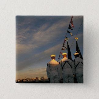 USA, Massachusettes, Boston. US Navy Color Button