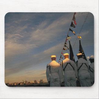 USA, Massachusettes, Boston. US Navy Color Mouse Pad