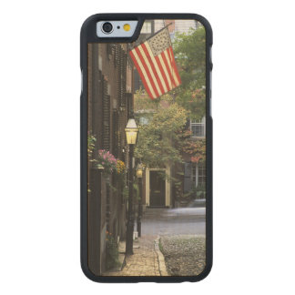 USA, Massachusetts, Boston, Beacon Hill. Carved Maple iPhone 6 Slim Case