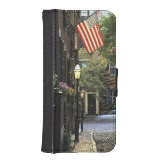 USA, Massachusetts, Boston, Beacon Hill. iPhone SE/5/5s Wallet