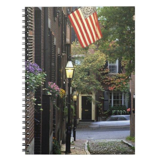 USA, Massachusetts, Boston, Beacon Hill. Notebook