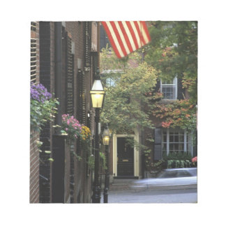 USA, Massachusetts, Boston, Beacon Hill. Notepad