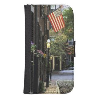 USA, Massachusetts, Boston, Beacon Hill. Samsung S4 Wallet Case