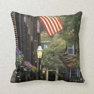 USA, Massachusetts, Boston, Beacon Hill. Throw Pillow