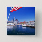 USA, Massachusetts, Boston, Boston harbour, Button
