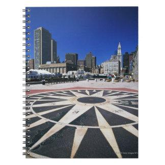 USA, Massachusetts, Boston, Boston harbour Notebook