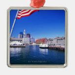 USA, Massachusetts, Boston, Boston harbour, Christmas Tree Ornament