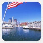 USA, Massachusetts, Boston, Boston harbour, Stickers