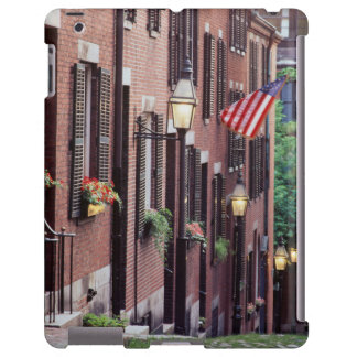 USA, Massachusetts, Boston, Houses Along Acorn