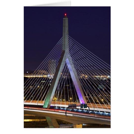 USA, Massachusetts, Boston. Leonard Zakim Card