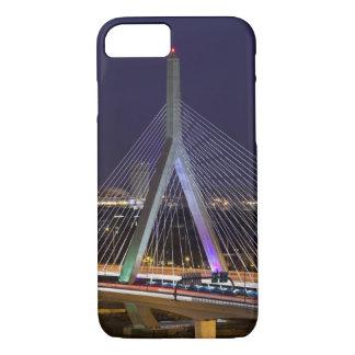 USA, Massachusetts, Boston. Leonard Zakim iPhone 7 Case