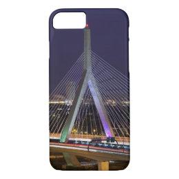 USA, Massachusetts, Boston. Leonard Zakim iPhone 8/7 Case