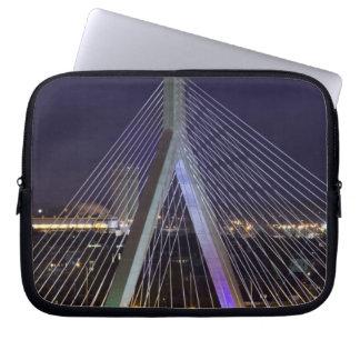 USA, Massachusetts, Boston. Leonard Zakim Computer Sleeves
