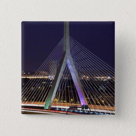 USA, Massachusetts, Boston. Leonard Zakim Pinback Button