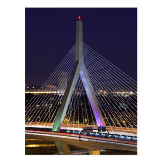 USA, Massachusetts, Boston. Leonard Zakim Postcard