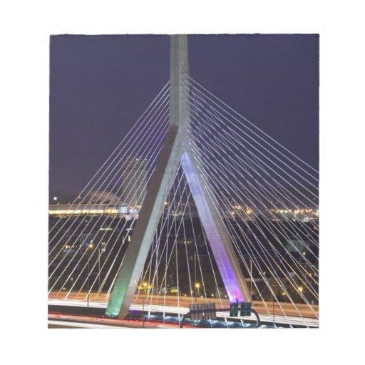 USA, Massachusetts, Boston. Leonard Zakim Scratch Pads