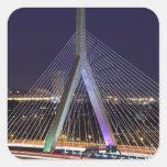 USA, Massachusetts, Boston. Leonard Zakim Sticker