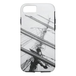 USA, Massachusetts, Boston. Masts of tall ship. iPhone 7 Case