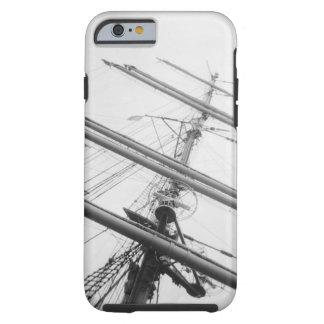 USA, Massachusetts, Boston. Masts of tall ship. Tough iPhone 6 Case