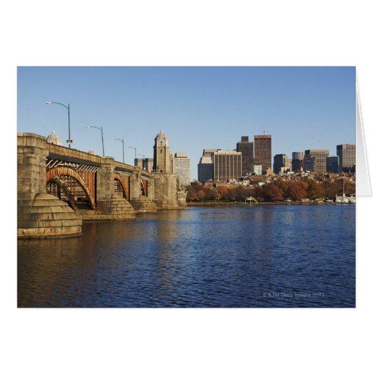 USA, Massachusetts, Boston skyline 2 Card