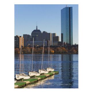 USA, Massachusetts, Boston skyline 4 Postcard