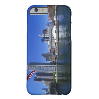 USA, Massachusetts, Boston skyline and Financial Barely There iPhone 6 Case