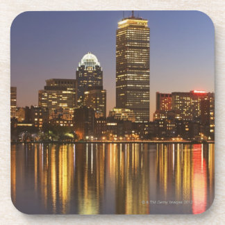 USA, Massachusetts, Boston skyline at dusk 2 Coaster