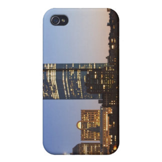 USA, Massachusetts, Boston skyline at dusk iPhone 4/4S Covers