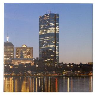 USA, Massachusetts, Boston skyline at dusk Ceramic Tiles