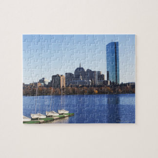 USA, Massachusetts, Boston skyline Jigsaw Puzzle