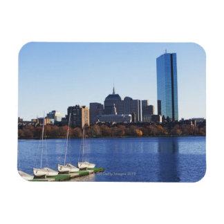 USA, Massachusetts, Boston skyline Magnet