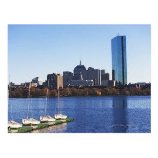 USA, Massachusetts, Boston skyline Postcard