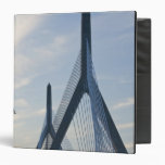 USA, Massachusetts, Boston. The Zakim Bridge. 2 Binder
