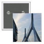USA, Massachusetts, Boston. The Zakim Bridge. 2 Pin