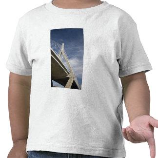 USA, Massachusetts, Boston. The Zakim Bridge. Shirt