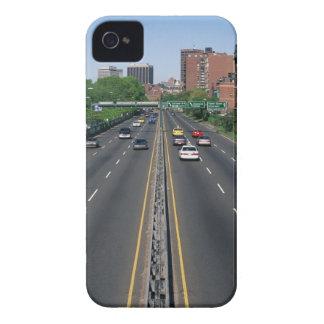USA, Massachusetts, Boston, traffic on Storrow iPhone 4 Case-Mate Case